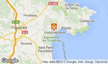 Mappa Empuriabrava Villa  92908