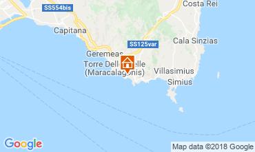Mappa Villasimius Appartamento 116622