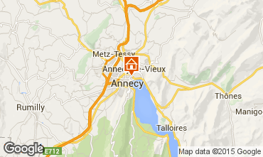 Mappa Annecy Monolocale 95281