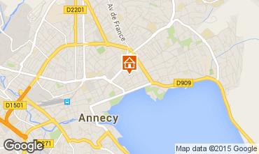 Mappa Annecy Monolocale 95281
