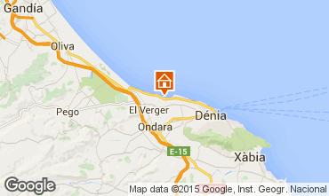 Mappa Dénia Appartamento 101883