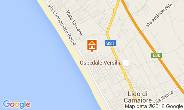 Mappa Marina di Pietrasanta Villa  104237