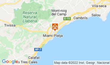 Mappa Cambrils Casa 92760