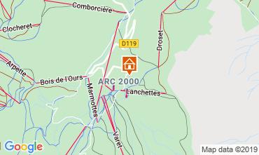 Mappa Les Arcs Monolocale 73833