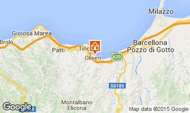 Mappa Oliveri Villa  78060