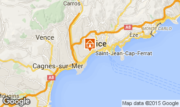 Mappa Nizza Appartamento 101412