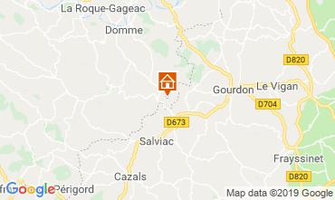 Mappa Sarlat Casa 95956