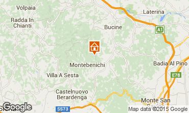 Mappa Siena Agriturismo 84894