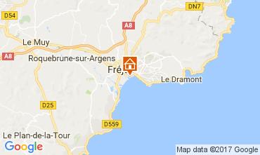 Mappa Fréjus Monolocale 8492