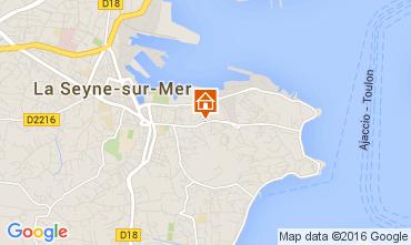 Mappa La Seyne sur Mer Appartamento 62221