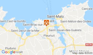 Mappa Dinard Casa 102435