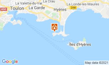 Mappa Hyères Appartamento 86065