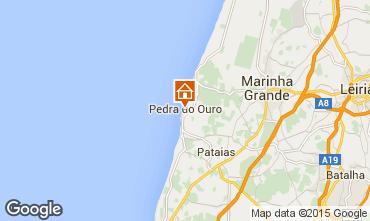 Mappa São Pedro de Moel Appartamento 58059
