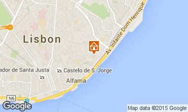 Mappa Lisbona Appartamento 76166