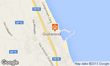 Mappa Giulianova Appartamento 96791