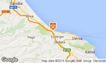 Mappa Dénia Appartamento 103151