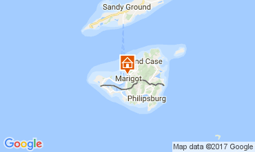 Mappa Marigot Appartamento 108399