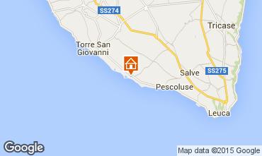 Mappa Pescoluse Appartamento 86166