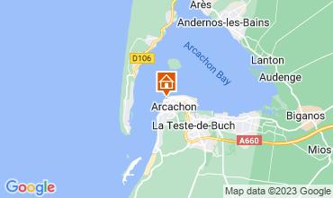 Mappa Arcachon Appartamento 83194
