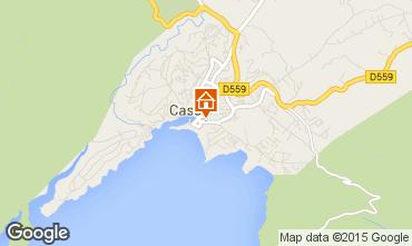 Mappa Cassis Appartamento 83306