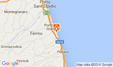 Mappa Porto San Giorgio Bungalow 103911