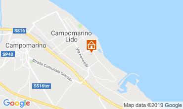 Mappa Campomarino Appartamento 16514