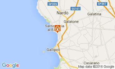 Mappa Gallipoli Appartamento 105367