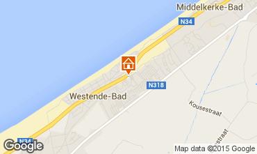 Mappa Middelkerke Bungalow 91436