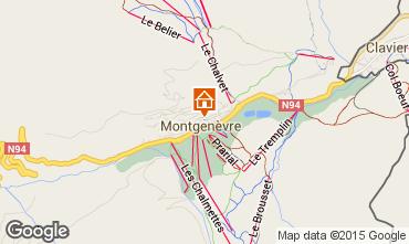 Mappa Monginevro Casa 17180