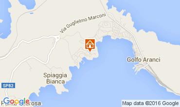 Mappa Golfo Aranci Appartamento 66270