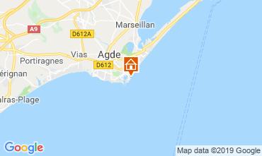 Mappa Cap d'Agde Appartamento 33425