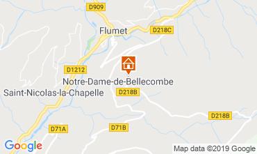 Mappa Notre Dame de Bellecombe Appartamento 117966