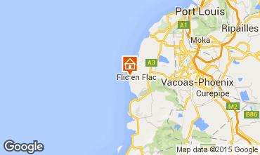 Mappa Flic-en-Flac Appartamento 81616
