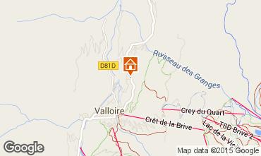 Mappa Valloire Appartamento 97653