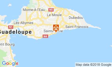 Mappa Sainte Anne (Guadalupa) Appartamento 69395