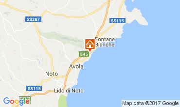 Mappa Avola Villa  109708