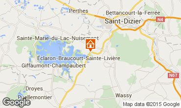 Mappa Éclaron-Braucourt-Sainte-Livière Agriturismo 75307
