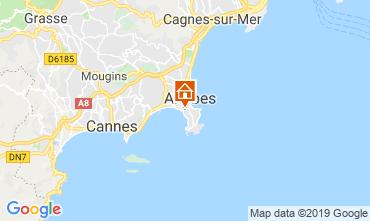 Mappa Antibes Appartamento 16441