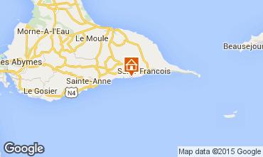 Mappa Saint Francois Monolocale 62479
