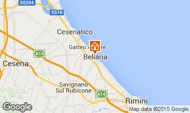 Mappa Bellaria Igea Marina Appartamento 33873