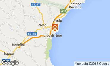 Mappa Noto Appartamento 90044