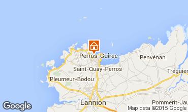 Mappa Perros-Guirec Appartamento 7423