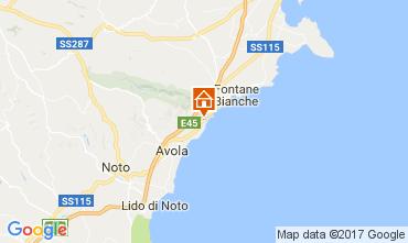 Mappa Noto Villa  109198