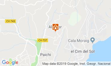 Mappa Benitachell Casa 117682