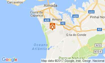 Mappa Lisbona Villa  64362
