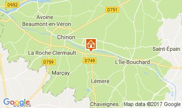 Mappa Chinon Casa 112374