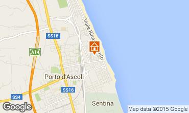 Mappa San Benedetto del Tronto Appartamento 88110
