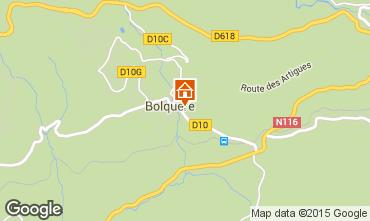 Mappa Bolquère Pyrenées 2000 Appartamento 67250