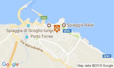 Mappa Porto Torres Appartamento 64765
