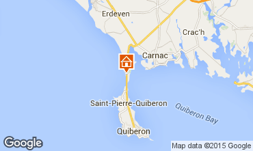 Mappa Saint Pierre Quiberon Appartamento 73569